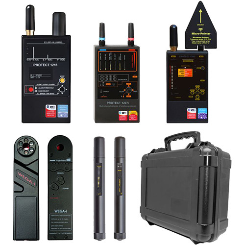 KJB Security Products DD2000 Detection and Counter Surveillance with Carrying Case Kit