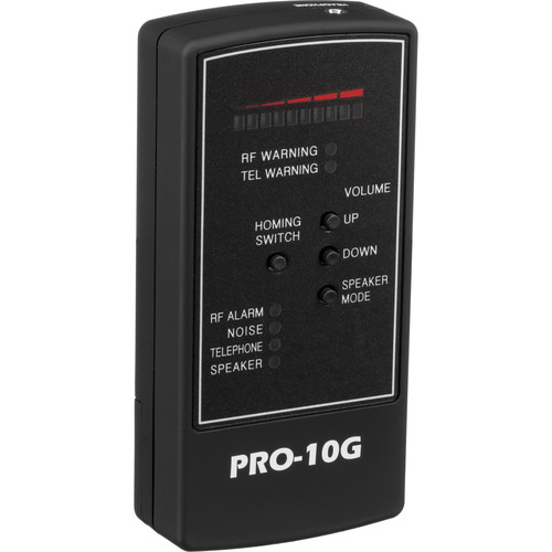 KJB Security Products PRO-10G Cell Phone and GPS Bug Detector