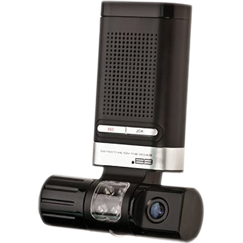 KJB Security Products DV401 2-Camera Car Recorder with GPS Logger