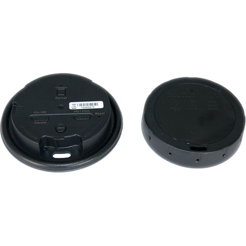 KJB Security Products LawMate Coffee Cup Lid with 720p Covert Camera and Audio Support