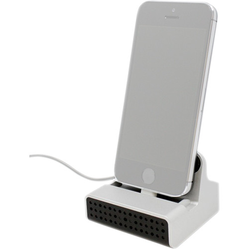 KJB Security Products Lightning Charging Dock with 1080p Covert Wi-Fi Camera and Audio Recording