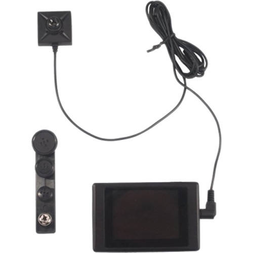 KJB Security Products All-in-One Handheld DVR And Button Camera System