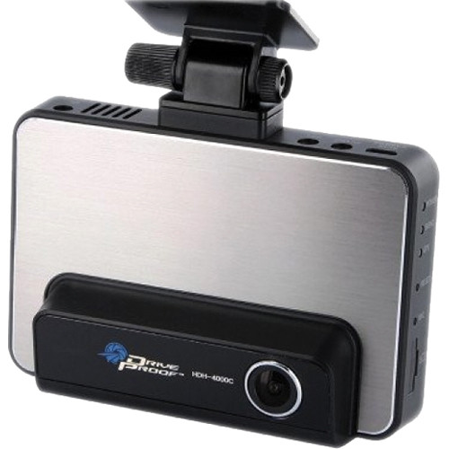"KJB Security Products Drive Proof Car Camera with 4.3"" Touchscreen"