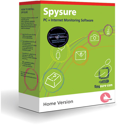 KJB Security Products Spysure Parental Control Software (Home Version)