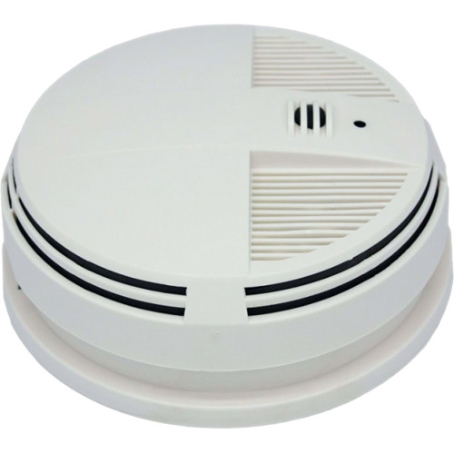 KJB Security Products Xtreme Life 720p Side View Night Vision Smoke Detector Camera with DVR and Wi-Fi