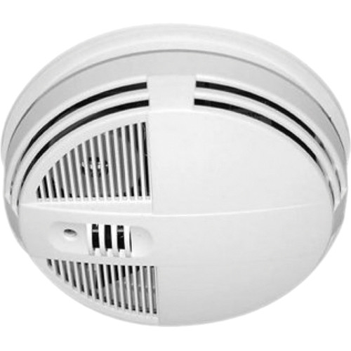 KJB Security Products SC7250 Smoke Detector Night Vision Indoor Covert Color IR Camera with Wireless Transmitter (Bottom-View, NTSC)