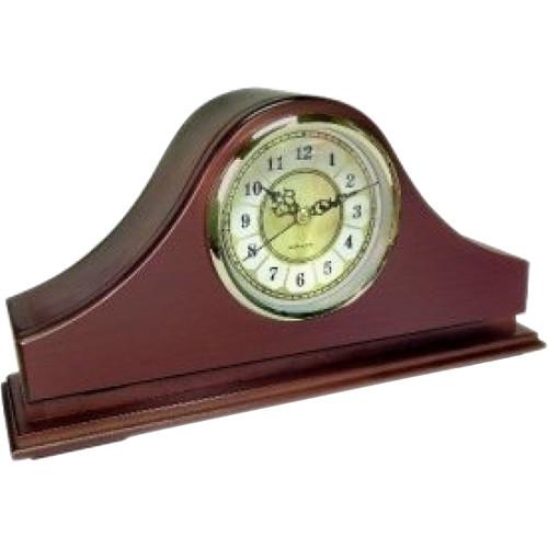 KJB Security Products Zone Shield 4K Mantel Clock with Covert Camera & DVR