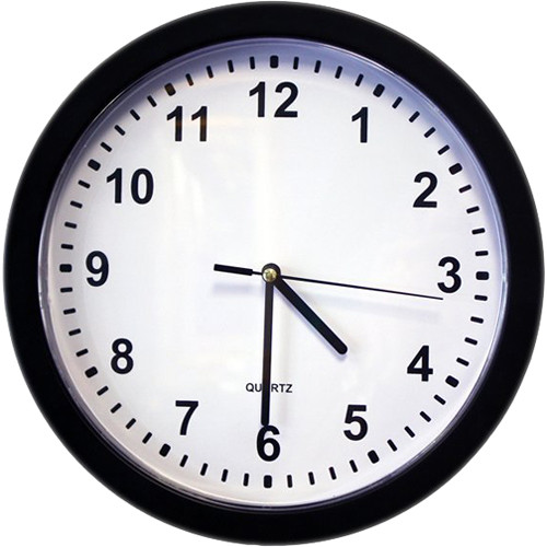 KJB Security Products SG Home Electric Wall Clock with Wi-Fi Camera & DVR