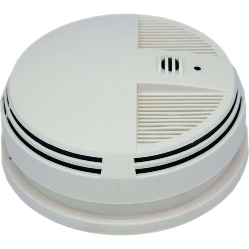 KJB Security Products SG Home Electric Smoke Detector with Covert Night Wi-Fi Camera & DVR (Bottom View)