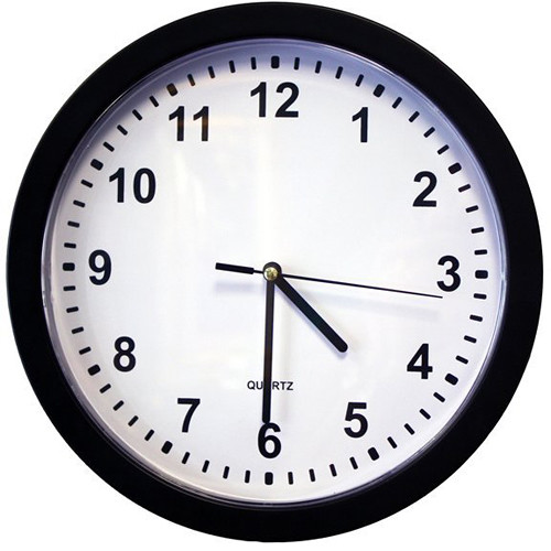 KJB Security Products SG Home Wall Clock with Covert Battery-Powered Wi-Fi Camera & DVR