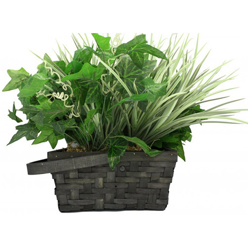 KJB Security Products SG Home Artificial Plant with Covert Battery-Powered Wi-Fi Camera & DVR