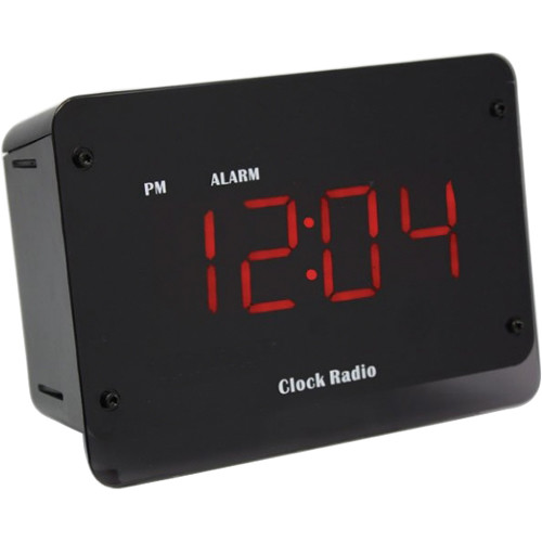 KJB Security Products Clock Radio with 720p Wi-Fi Hidden Camera