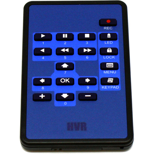KJB Security Products Remote Control for Zone Shield DVR Series