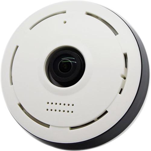 KJB Security Products WF1130 360° Fisheye Wi-Fi Camera with Night Vision