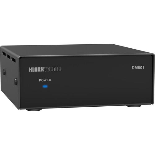 Klark Teknik DM801 RS-232 and Ethernet Interface for DM8000 Digital Audio Processor