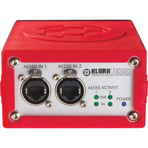 Klark Teknik DN9610 Dual Port AES50 Repeater