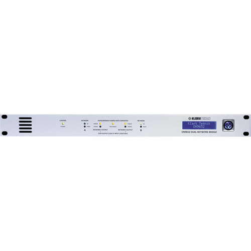 Klark Teknik DN9652 Dual Digital Audio Network Bridge (1 RU)