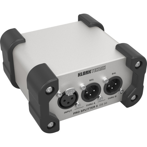 Klark Teknik DS 50 Pro Splitter 5 Passive 1-In / 5-Out Signal Splitter