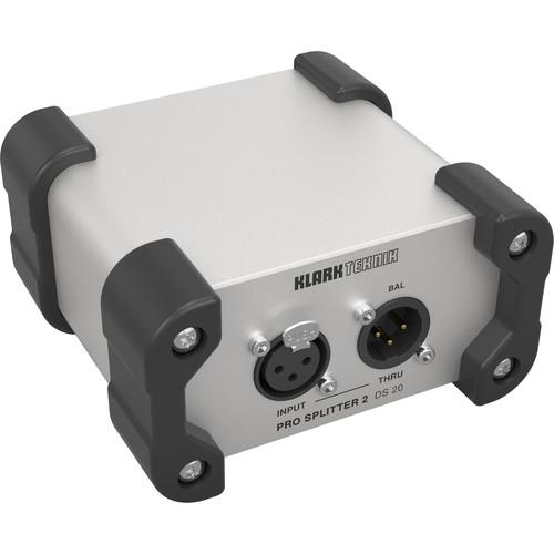 Klark Teknik Pro Splitter 2 DS 20 Passive Signal Splitter