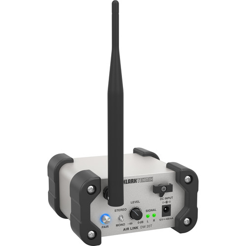 Klark Teknik AIR LINK DW 20T Stereo 2.4 GHz Wireless Transmitter