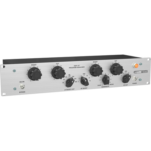 Klark Teknik Single-Channel 2-Band Equalizer with Switchable Frequency Selection, Variable Bandwidth, and Custom-Built MIDAS Transformers