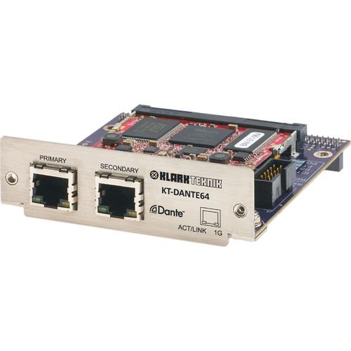 Klark Teknik KT-Dante64 Network Module