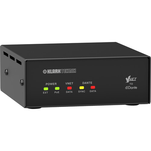 Klark Teknik VNET2 Connection Bridge for Dante Sources