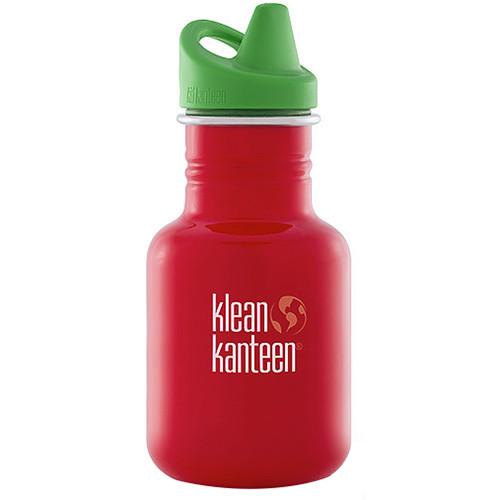 Klean Kanteen Kid Kanteen Water Bottle (12 fl oz, Farm House, Sippy Cap)