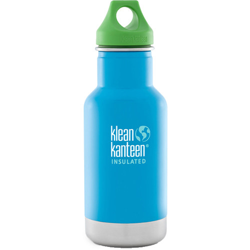Klean Kanteen Vacuum Insulated Kid Classic (12 fl oz, Little Pond, Loop Cap)