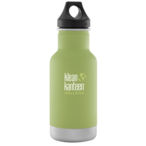 Klean Kanteen Vacuum Insulated Classic Water Bottle (12 fl oz, Bamboo Leaf)