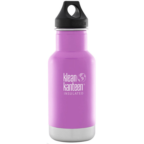 Klean Kanteen Vacuum Insulated Classic Water Bottle (12 fl oz, Meadow Flower)
