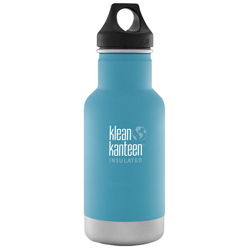 Klean Kanteen Vacuum Insulated Classic Water Bottle (12 fl oz, Quiet Storm)