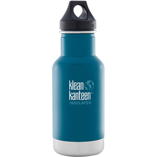 Klean Kanteen Vacuum Insulated Classic Water Bottle (12 fl oz, Winter Lake)