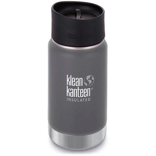 Klean Kanteen Insulated Wide Travel Mug with Cafe Cap 2.0 (12 fl oz, Granite Peak)