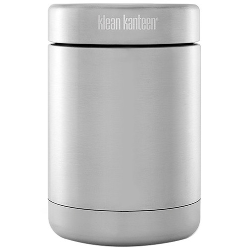 Klean Kanteen Vacuum Insulated Food Canister 16 oz (Brushed Stainless)
