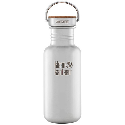 Klean Kanteen Reflect Water Bottle (18 fl oz, Brushed Stainless)