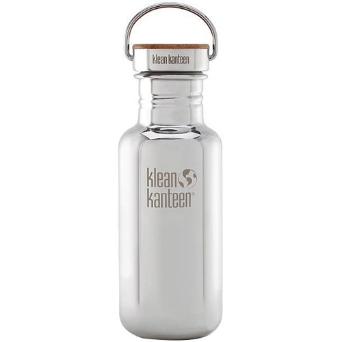 Klean Kanteen Reflect Water Bottle (18 fl oz, Mirrored Stainless)