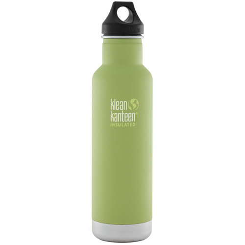 Klean Kanteen Vacuum Insulated Classic 20 oz Water Bottle (Bamboo Leaf)