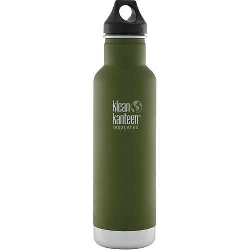 Klean Kanteen Vacuum Insulated Classic Water Bottle (20 fl oz, Fresh Pine)