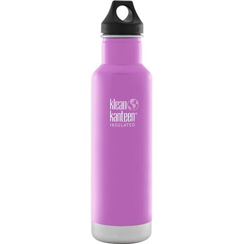 Klean Kanteen Vacuum Insulated Classic 20 oz Water Bottle (Meadow Flower)