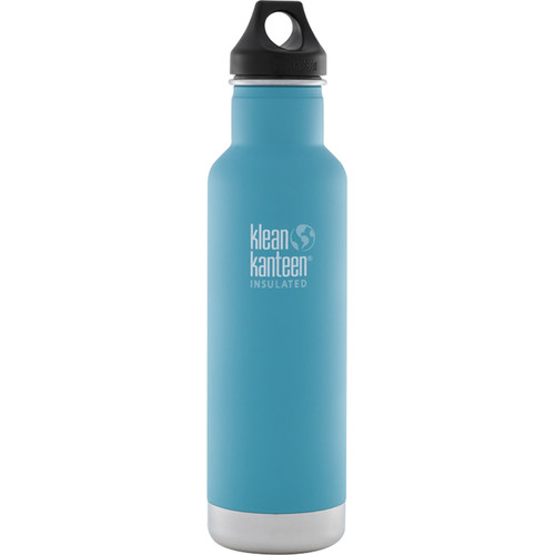 Klean Kanteen Vacuum Insulated Classic Water Bottle (20 fl oz, Quiet Storm)