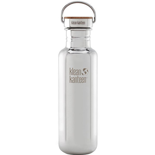 Klean Kanteen Reflect Water Bottle (27 fl oz, Mirrored Stainless)