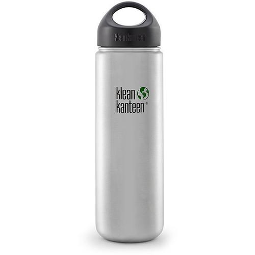 Klean Kanteen Wide Stainless Steel Water Bottle (27 fl oz)