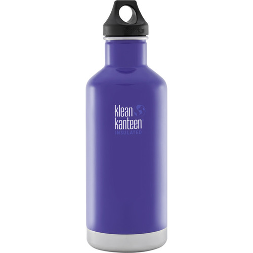 Klean Kanteen Vacuum Insulated Classic 32 oz Water Bottle (Blooming Iris)