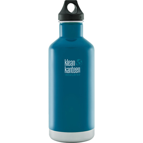 Klean Kanteen Vacuum Insulated Classic 32 oz Water Bottle (Winter Lake)