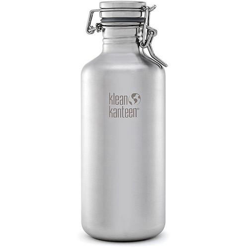Klean Kanteen Growler Water Bottle (40 fl oz, Brushed Stainless)