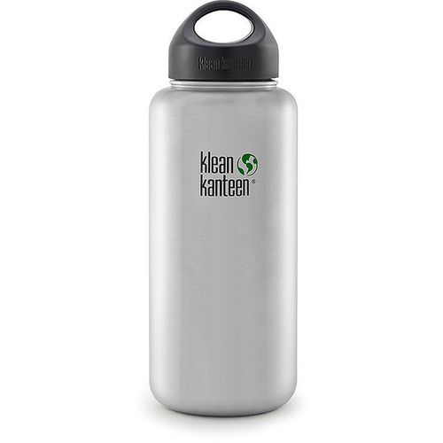 Klean Kanteen Wide Stainless Steel Water Bottle (40 fl oz)