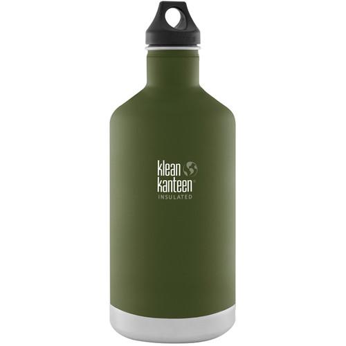Klean Kanteen Vacuum Insulated Classic Water Bottle (64 fl oz, Fresh Pine)