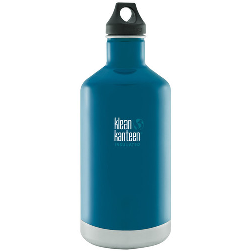 Klean Kanteen Vacuum Insulated Classic Water Bottle (64 fl oz, Winter Lake)