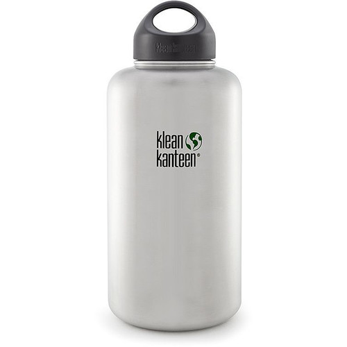 Klean Kanteen Wide Stainless Steel Water Bottle (64 fl oz)